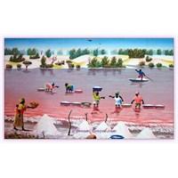 Retba Gölü (Pembe Göl) | Senegal