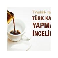 Türk Kahvesi Nasıl Yapılır ?