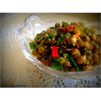Yeşil Mercimek Salatası Tarifi Endinin Mutfagi
