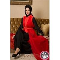 Tesettürlü Elbise Modelleri 2014
