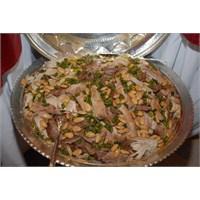 Maraş Usulü Fıstıklı, Tavuklu Bademli Pirinç Pilav