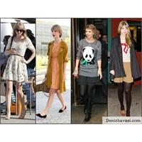 Ünlü Stil: Taylor Swift Ve Bıcırık Halleri