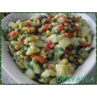 Nefis Renkli Patates Salatası