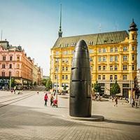 Brno Şehrinin 6 Metrelik Sembol Saati