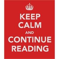 Sakin Olun Ve Kitap Okuyun! Poster Serisi
