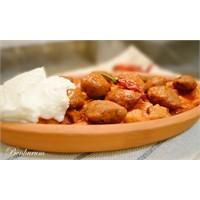 Pideli Leziz Mini Tavuk Köfteleri