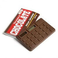 Çikolata Şeklinde Kokulu Hesap Makinesi