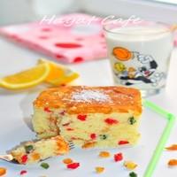 Meyve Şekerlemeli, Limonlu Kek