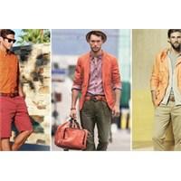 Erkek Modasında Sessiz Ve Parlak Geçişler:turuncu