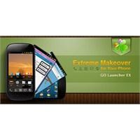 Go Launcher Ex - Android'ini Tasarla