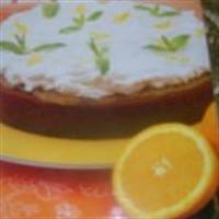 Yapımı Kolay Portakallı Pasta