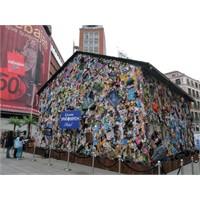 Madrid / Çöplerden Hotel !