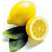 Nasır Ve Yüzdeki Sivilceleri Limonla Geçirin