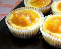 Portakallı Mini Cheesecake'ler