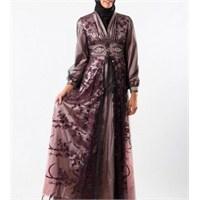 2013 Tesettürlü Nişan Abiye Elbiseleri