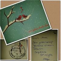 Nostalji Oldu Postadan Kartpostal Geldi