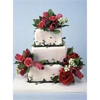 Flowered Wedding Cakes / Çiçekli Düğün Pastaları…