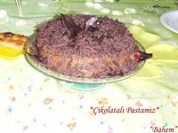 Uğurlu Yeni Yılın İlk Pastası (çikolata Sevenlere