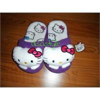 Hello Kitty Puf Terlikler