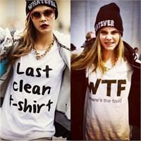 Yükselen Trendlerden: Sloganlı Tişörtler
