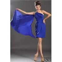 En Şık Renk : Mavi Abiye Modelleri