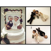Düğün Pastası: Pasta Üstü Süsleri!