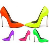 2014 Neon Renk Ayakkabı Modelleri