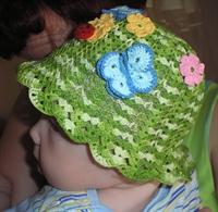 Yazlık Bebek Şapka Modelleri