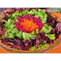 Gökkuşağı Salata