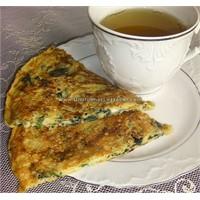İspanaklı Patatesli Omlet