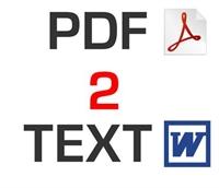 Pdf Dosyalarınızı Word Doc Dosyasına Çevirin