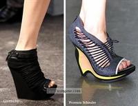 Mantar Topuk Ayakkabı Giyen Ünlüler
