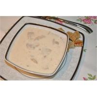 Kremalı Mantar Çorbası....