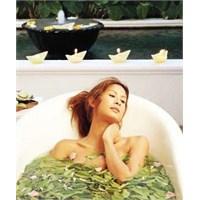 Etkili Bitkisel Banyo Tarifleri