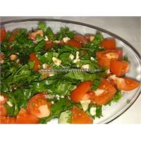 Roka Domates Salatası