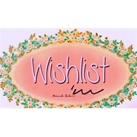 Wishlist'im