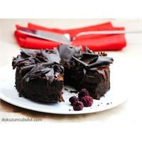 Çikolatalı Unsuz Şekersiz Kek
