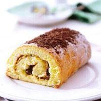 Çikolatalı Fındık Kremalı Rulo Pasta