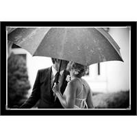 Dışarıda Konsept Düğün Fotoğrafı Örnekleri