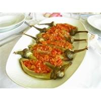 Domates Soslu Közde Patlıcan