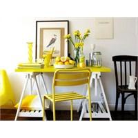 İçimizi Isıtan Renk : Sarı