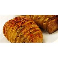 Patates Çizgili Mantarlı Bonfile Dilimleri