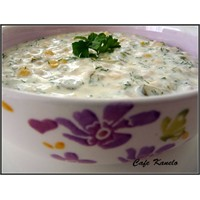 Yoğurtlu Buğday Salatası Tarifi