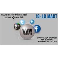 2013 Www Zirvesi Yıldız Teknik Üniversitesi 'nde!