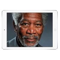 İpad İle Morgan Freeman'ın Resmini Çizmek