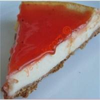 Meyve Soslu Cheesecake (Resimli Anlatım)