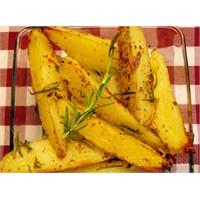 Fırın Patates-biberiyeli