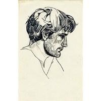 Şair Slyvia Plath'in Çizimleri