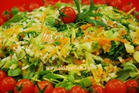 Oktay Usta dan Pirinçli Pırasa Salatası