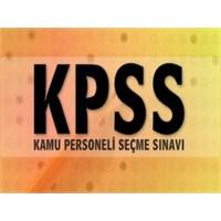 2013 Kpss ve Sınıf Öğretmenleri